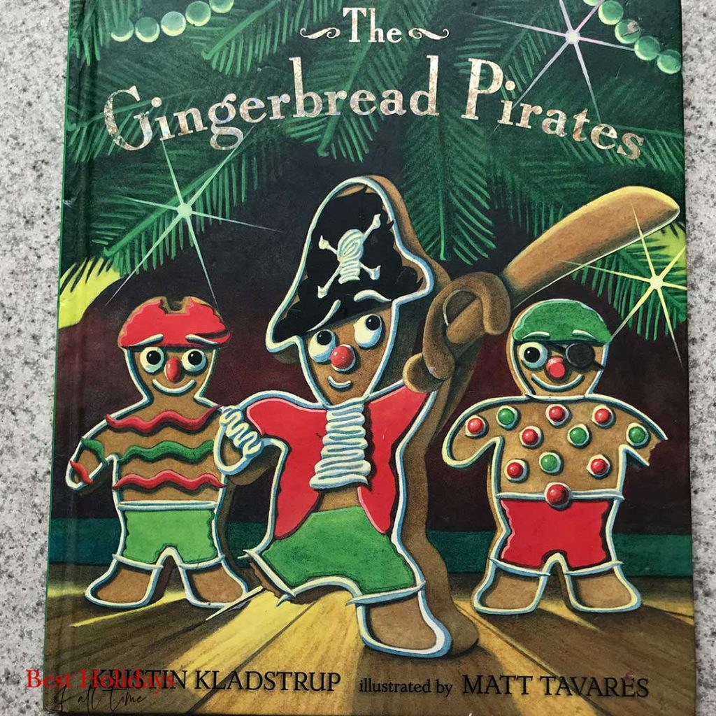 cover of Gingerbread Pirates book