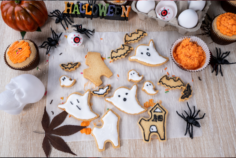 Halloween Cookie Decorations