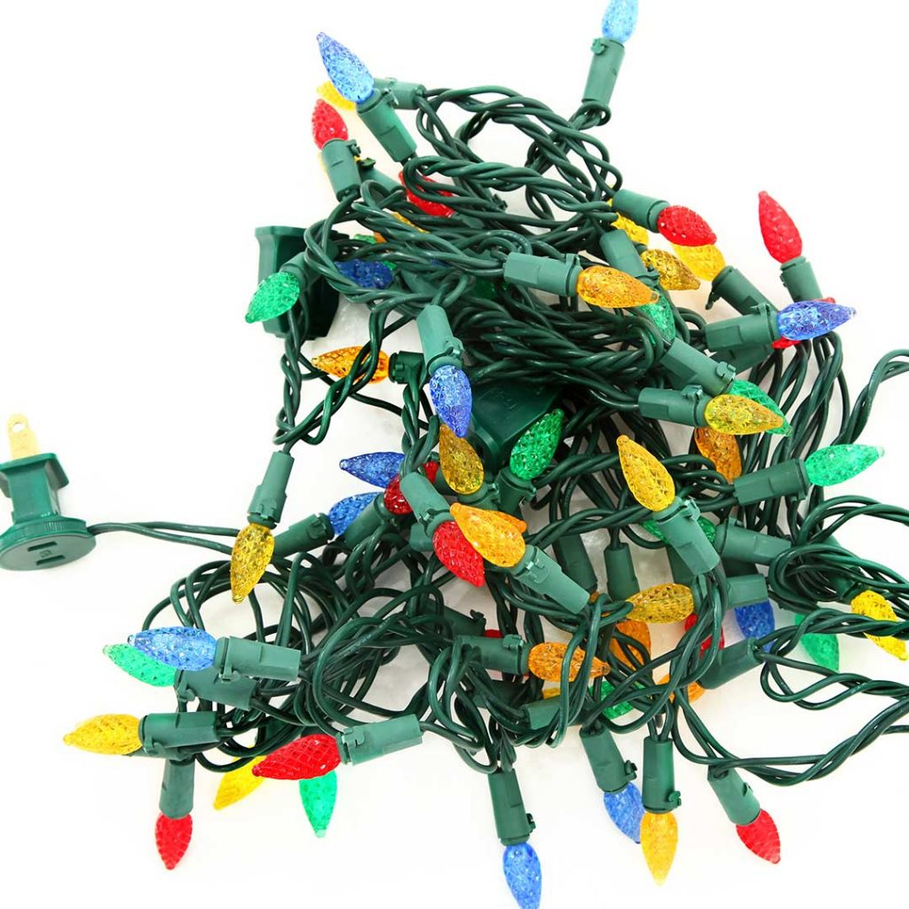 Jumbled Christmas Lights